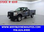 2011 Ford F250 Utility ~ 4x4 ~ Only 48K Miles!