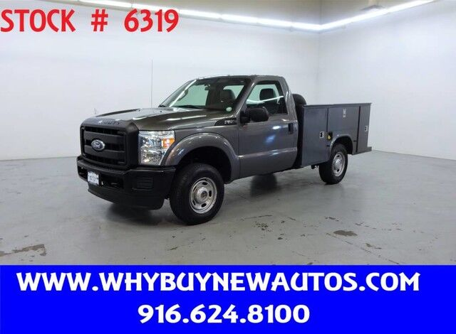 2011 Ford F250 Utility ~ 4x4 ~ Only 48K Miles! Rocklin CA