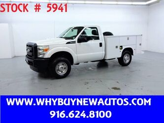 Ford F250 Utility ~ 4x4 ~ Only 57K Miles! 2011