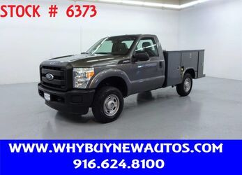 Ford F250 Utility ~ 4x4 ~ Only 62K Miles! 2011