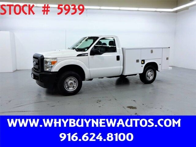 2011 Ford F250 Utility ~ 4x4 ~ Only 65K Miles! Rocklin CA