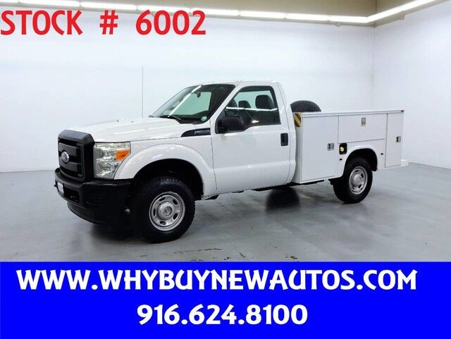 2011 Ford F250 Utility ~ 4x4 ~ Only 74K Miles! Rocklin CA