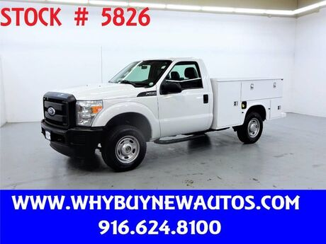 2011 Ford F250 Utility ~ 4x4 ~ Only 81K Miles! Rocklin CA