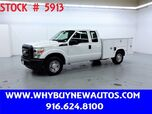 2011 Ford F250 Utility ~ Extended Cab ~ Only 19K Miles!