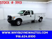 2011_Ford_F250_Utility ~ Extended Cab ~ Only 19K Miles!_ Rocklin CA