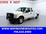 2011 Ford F250 Utility ~ Extended Cab ~ Only 35K Miles!