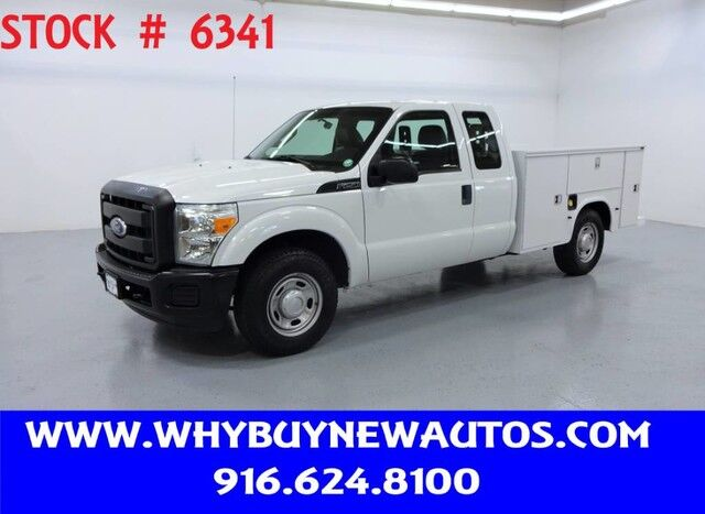2011 Ford F250 Utility ~ Extended Cab ~ Only 40K Miles! Rocklin CA