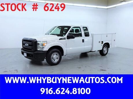 2011 Ford F250 Utility ~ Extended Cab ~ Only 69K Miles! Rocklin CA