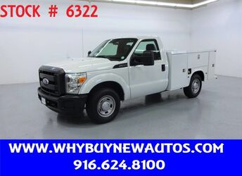 Ford F250 Utility ~ Only 19K Miles! 2011