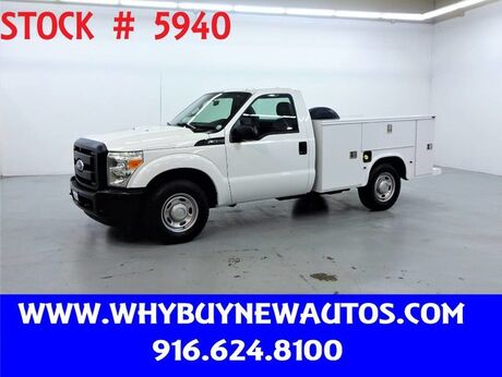 2011 Ford F250 Utility ~ Only 26K Miles! Rocklin CA
