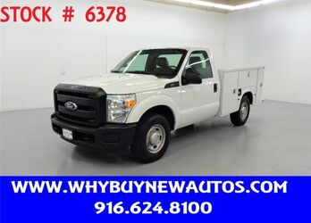 Ford F250 Utility ~ Only 28K Miles! 2011