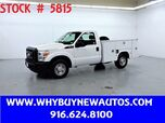 2011 Ford F250 Utility ~ Only 41K Miles!