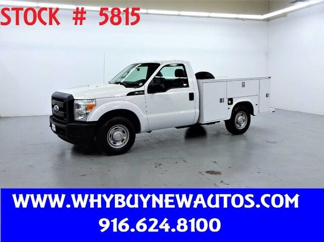 2011 Ford F250 Utility ~ Only 41K Miles! Rocklin CA