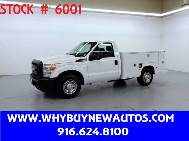 2011 Ford F250 Utility ~ Only 44K Miles! Rocklin CA