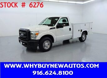 Ford F250 Utility ~ Only 46K Miles! 2011