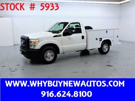 2011 Ford F250 Utility ~ Only 50K Miles! Rocklin CA