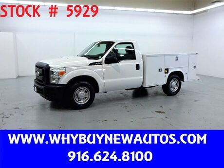 2011 Ford F250 Utility ~ Only 51K Miles! Rocklin CA