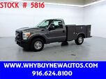 2011 Ford F250 Utility ~ Only 53K Miles!