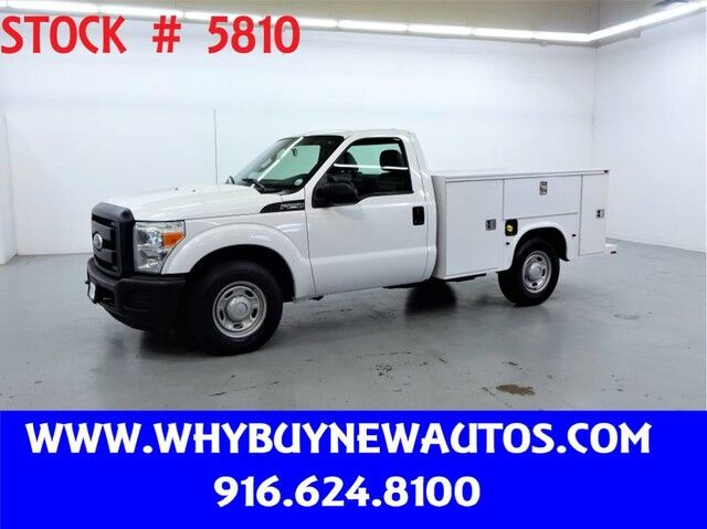 2011 Ford F250 Utility ~ Only 53K Miles! Rocklin CA