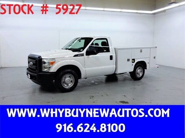 2011 Ford F250 Utility ~ Only 59K Miles! Rocklin CA