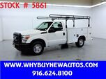 2011 Ford F250 Utility ~ Only 63K Miles!
