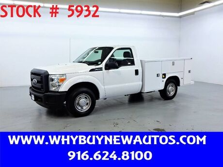 2011 Ford F250 Utility ~ Only 63K Miles! Rocklin CA