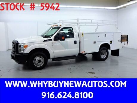 2011 Ford F350 ~ 11ft Contractor Bed ~ Only 68K Miles! Rocklin CA