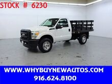 2011_Ford_F350_~ 4x4 ~ 8ft. Stake Bed ~ Only 48K Miles!_ Rocklin CA