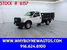 2011_Ford_F350_~ 8ft. Stake Bed ~ Liftgate ~ Only 17K Miles!_ Rocklin CA