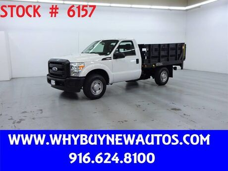 2011 Ford F350 ~ 8ft. Stake Bed ~ Liftgate ~ Only 17K Miles! Rocklin CA