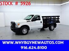 2011_Ford_F350_~ 8ft Stake Bed ~ Only 15K Miles!_ Rocklin CA