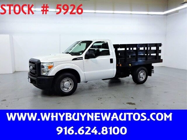 2011 Ford F350 ~ 8ft Stake Bed ~ Only 15K Miles! Rocklin CA