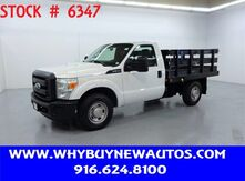 2011_Ford_F350_~ 8ft. Stake Bed ~ Only 67K Miles!_ Rocklin CA