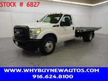 2011_Ford_F350_~ Liftgate ~ 12ft Flat Bed ~ Only 43K Miles!_ Rocklin CA