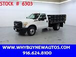 2011 Ford F350 ~ Liftgate ~ 9ft. Stake Bed ~ Only 27K Miles!