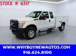 2011 Ford F350 Utility ~ 4x4 ~ Extended Cab ~ Only 61K Miles!