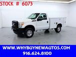 2011 Ford F350 Utility ~ 4x4 ~ Only 47K Miles!