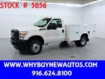 2011 Ford F350 Utility ~ 4x4 ~ Only 63K Miles!