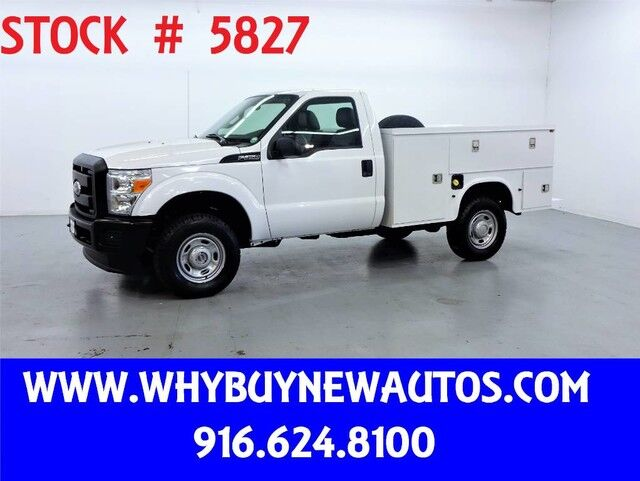 2011 Ford F350 Utility ~ 4x4 ~ Only 64K Miles! Rocklin CA