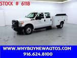 2011 Ford F350 Utility ~ Crew Cab ~ Liftgate ~ Only 28K Miles!