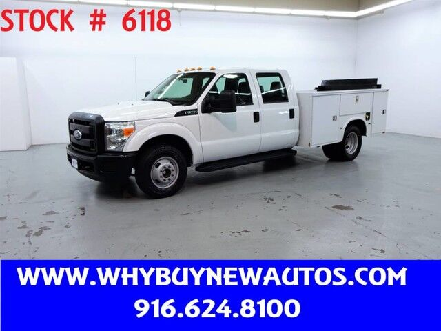 2011 Ford F350 Utility ~ Crew Cab ~ Liftgate ~ Only 28K Miles! Rocklin CA
