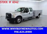 2011 Ford F350 Utility ~ Crew Cab ~ Only 34K Miles!