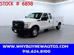 2011 Ford F350 Utility ~ Extended Cab ~ Only 30K Miles!
