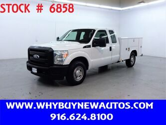 Ford F350 Utility ~ Extended Cab ~ Only 30K Miles! 2011