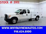 2011 Ford F350 Utility ~ Extended Cab ~ Only 31K Miles!