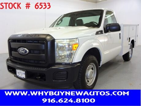 2011 Ford F350 Utility ~ Only 21K Miles! Rocklin CA