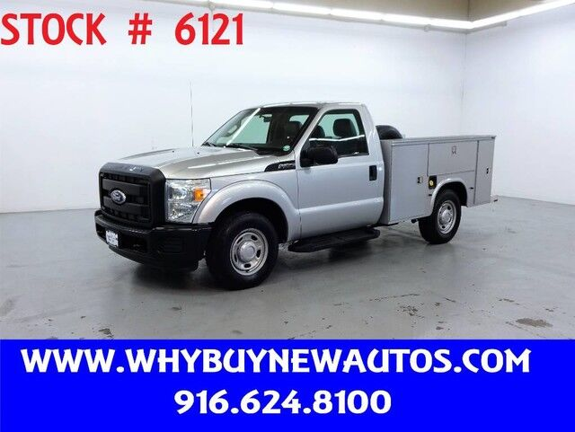2011 Ford F350 Utility ~ Only 27K Miles! Rocklin CA