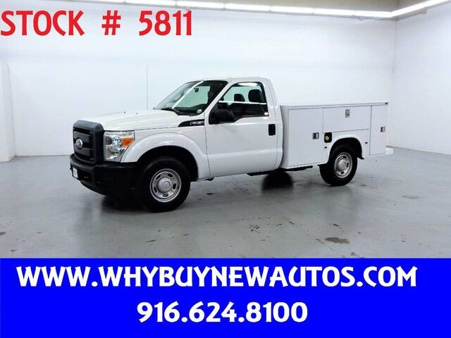 2011 Ford F350 Utility ~ Only 51K Miles! Rocklin CA
