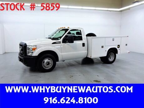 2011 Ford F350 Utility ~ Only 52K Miles! Rocklin CA