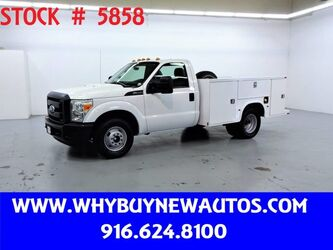 Ford F350 Utility ~ Only 77K Miles! 2011